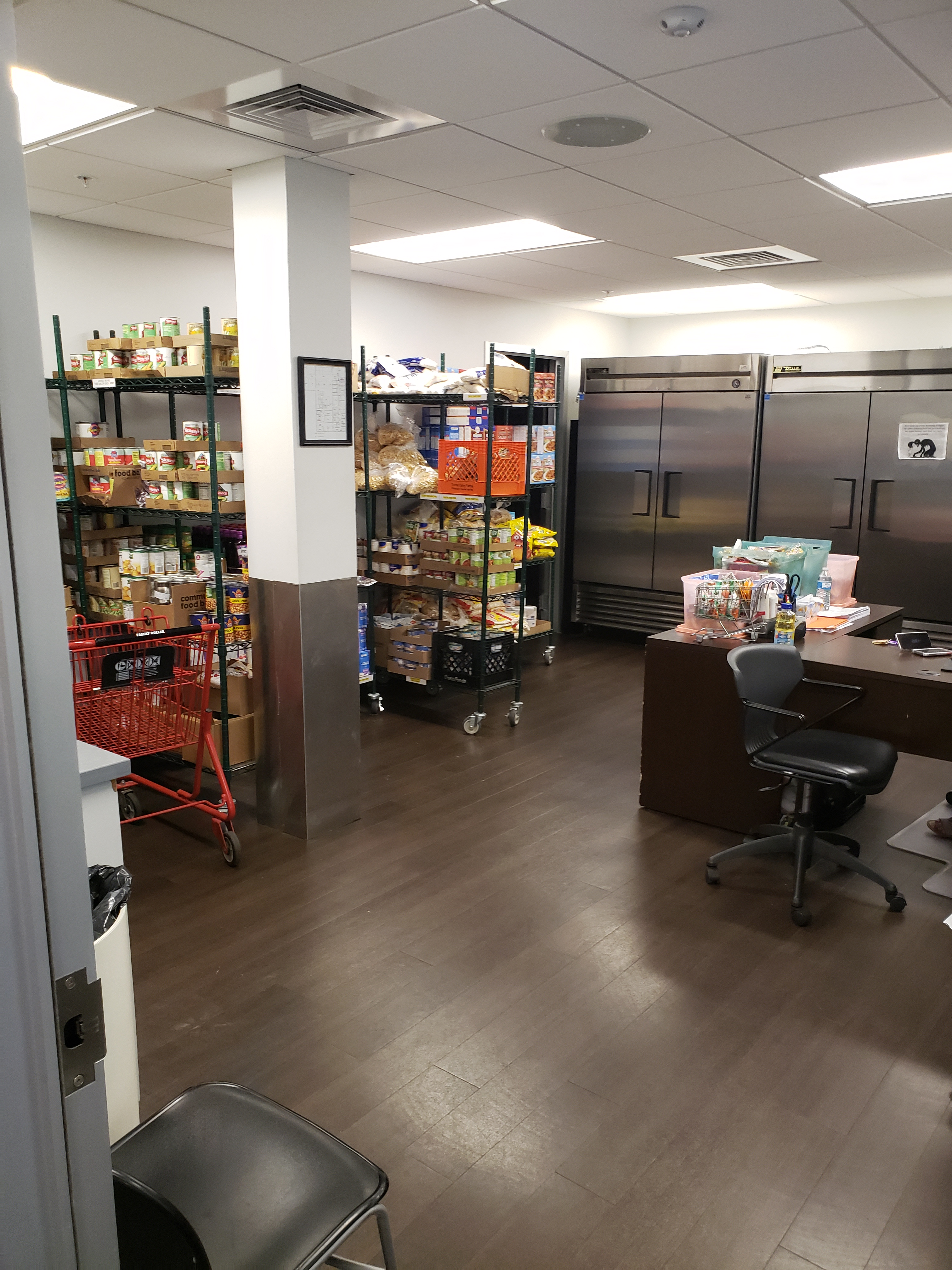 Inside the Pantry