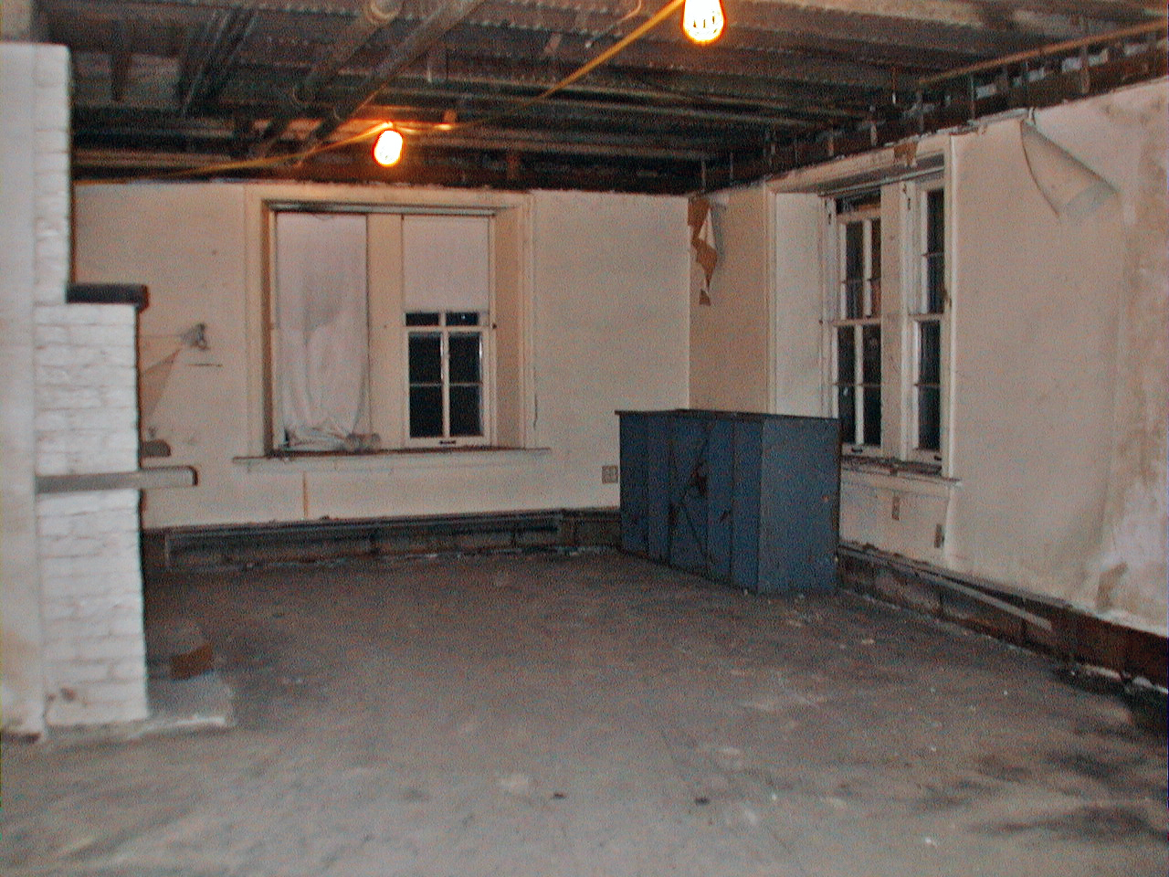 First Floor Before