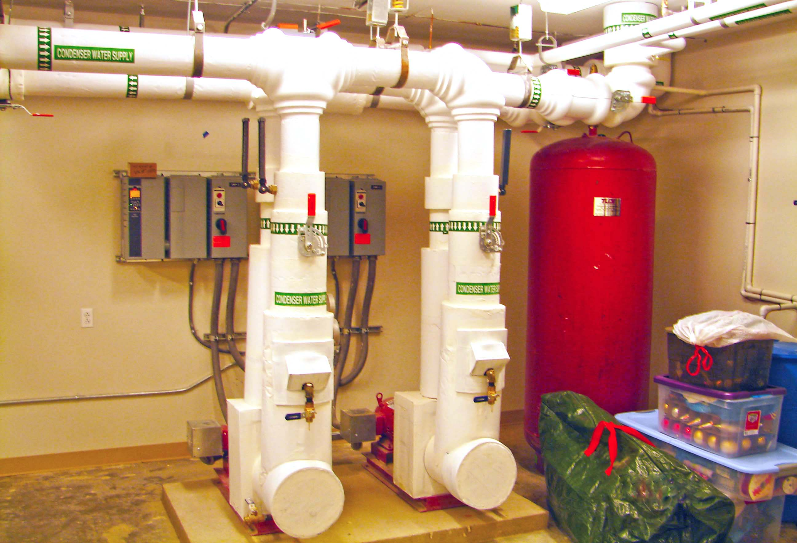 Geothermal Pump Room