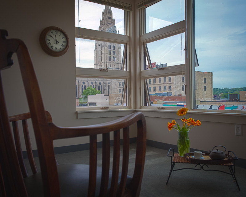 Unit with View of East Liberty