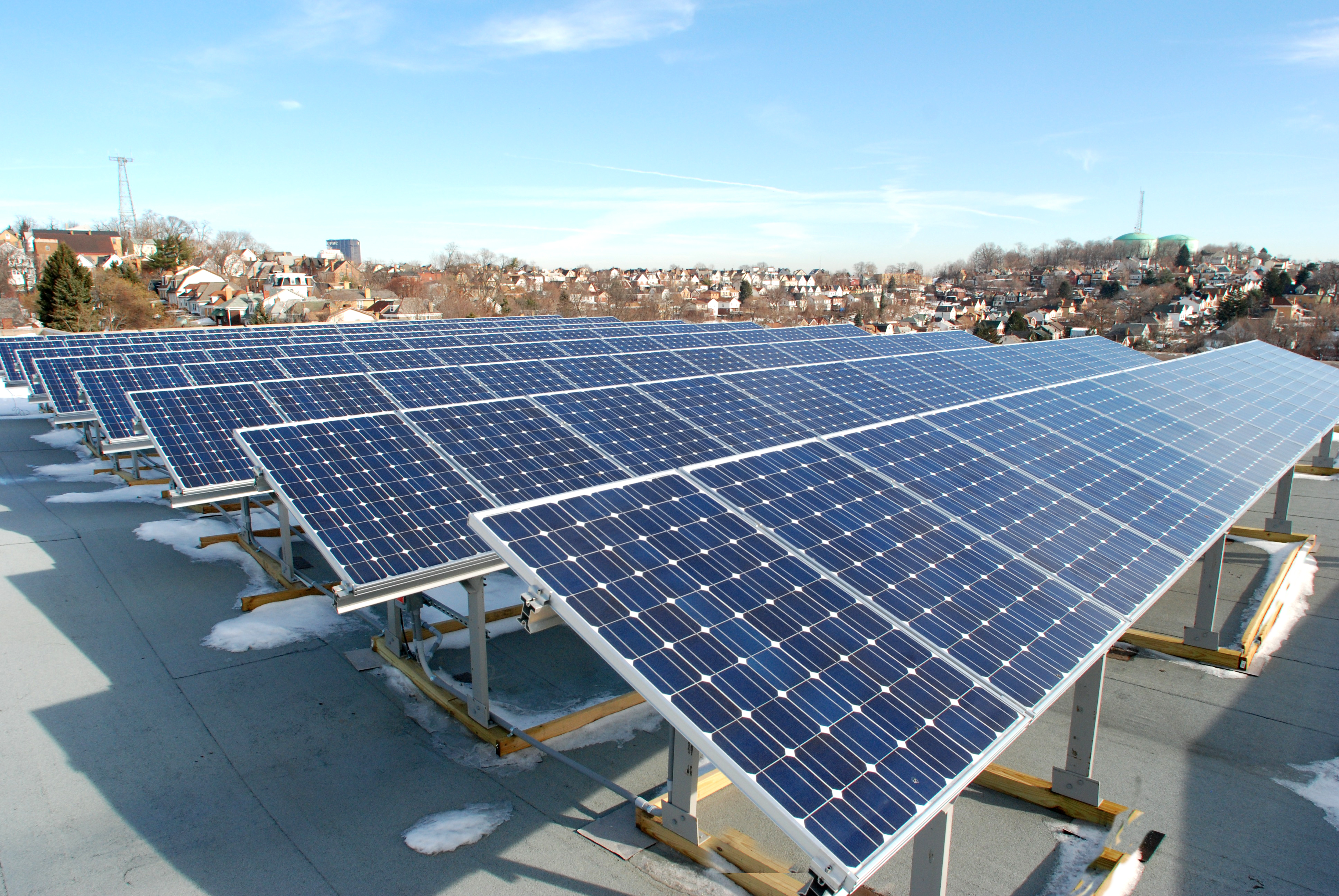 PV Roof Array