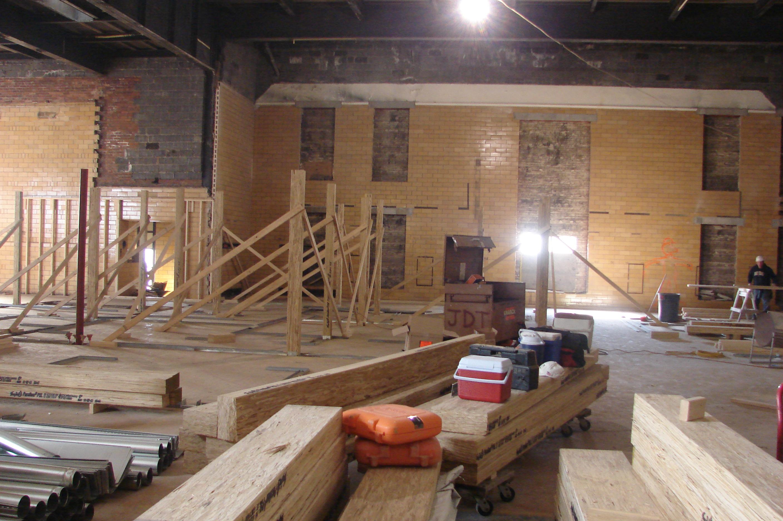 Construction Lobby Upper Level